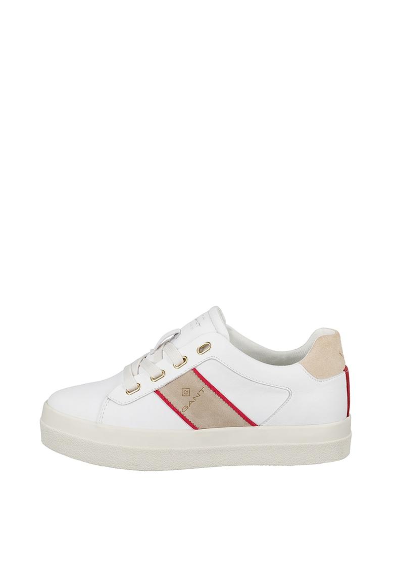 Pantofi sport de piele cu logo 2
