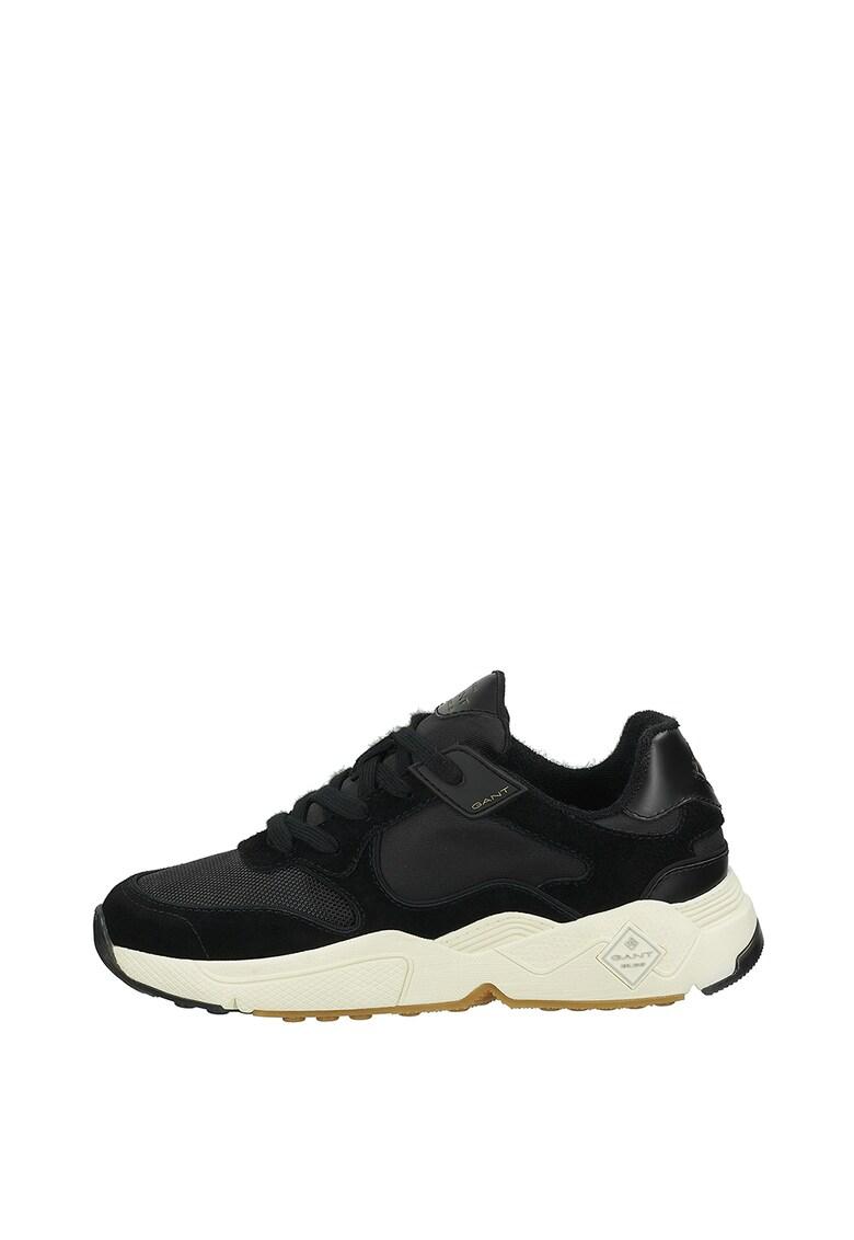Pantofi sport cu insertii de piele intoarsa RS-X Reinvent 2