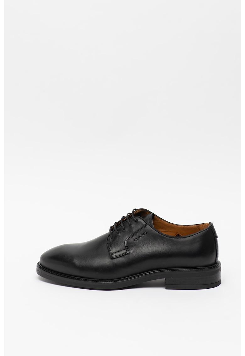 Pantofi derby de piele Flairville imagine