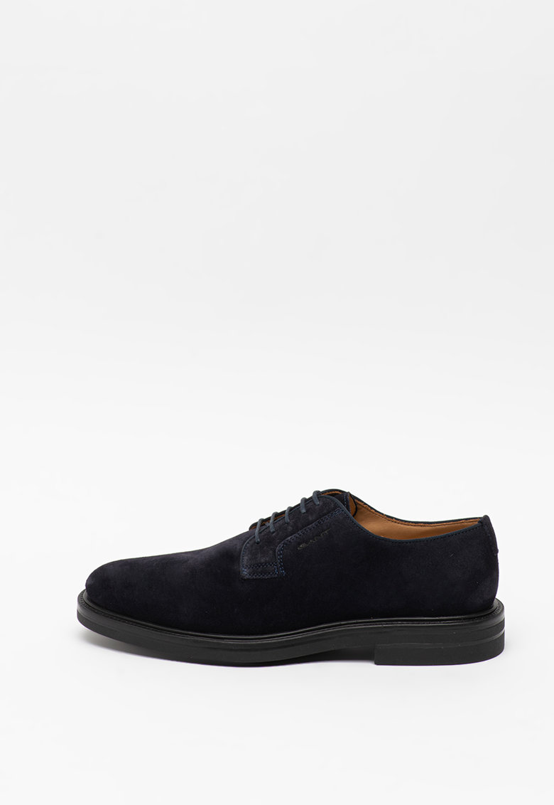 Pantofi derby de piele intoarsa Kyree imagine