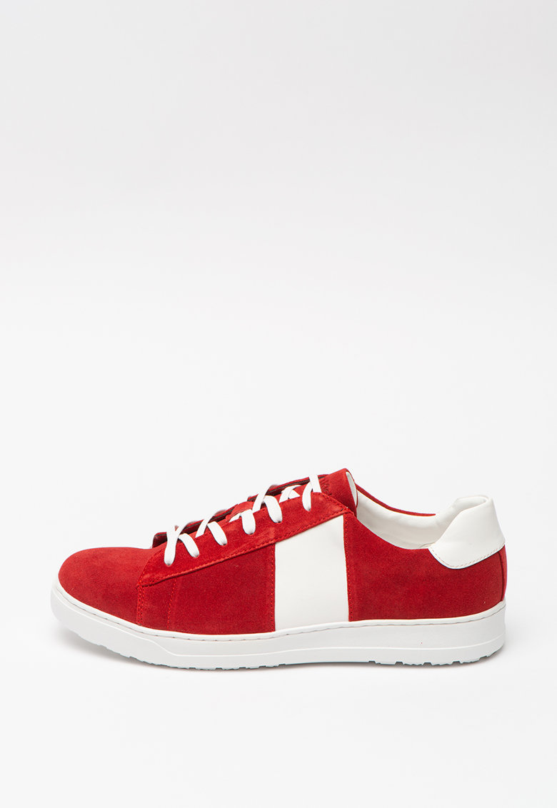 JEANS - Pantofi sport de piele intoarsa Sammy