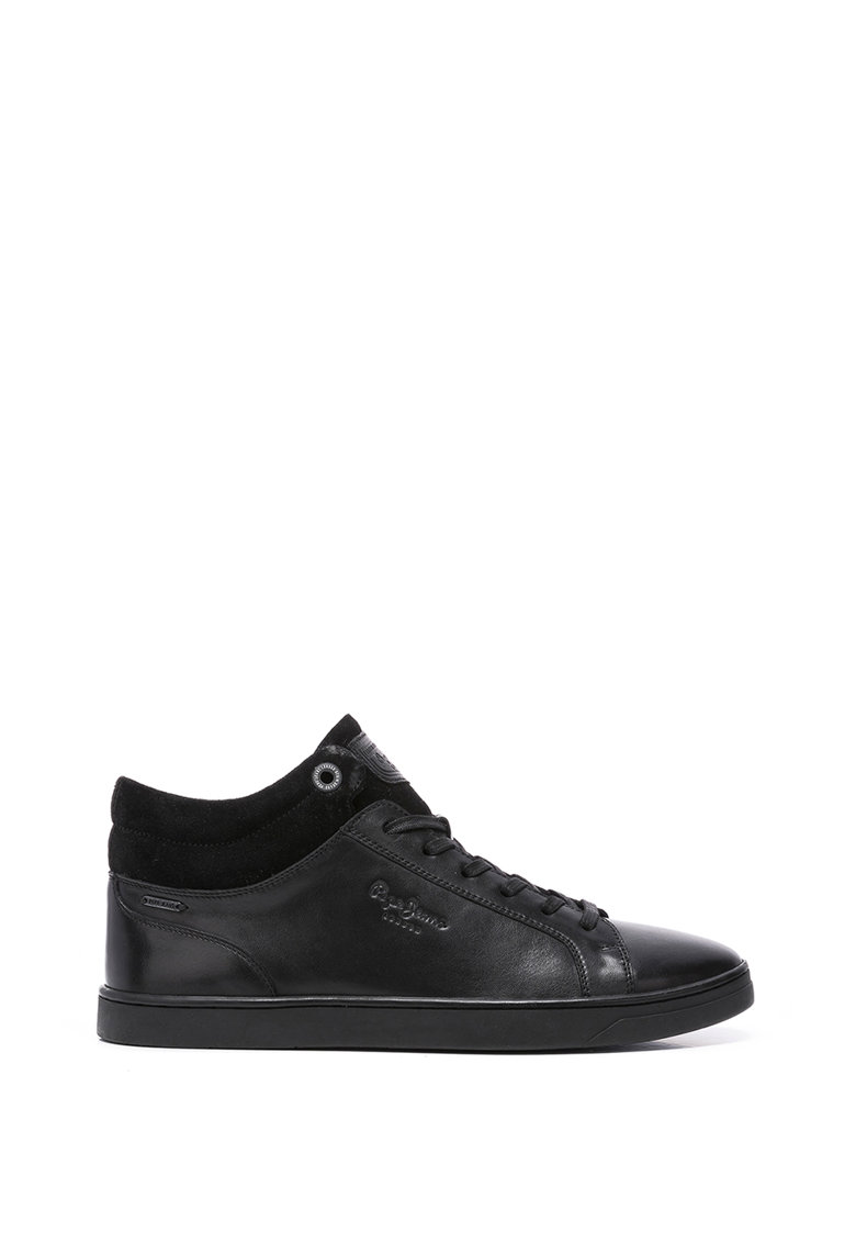 Pantofi sport mid-high din piele