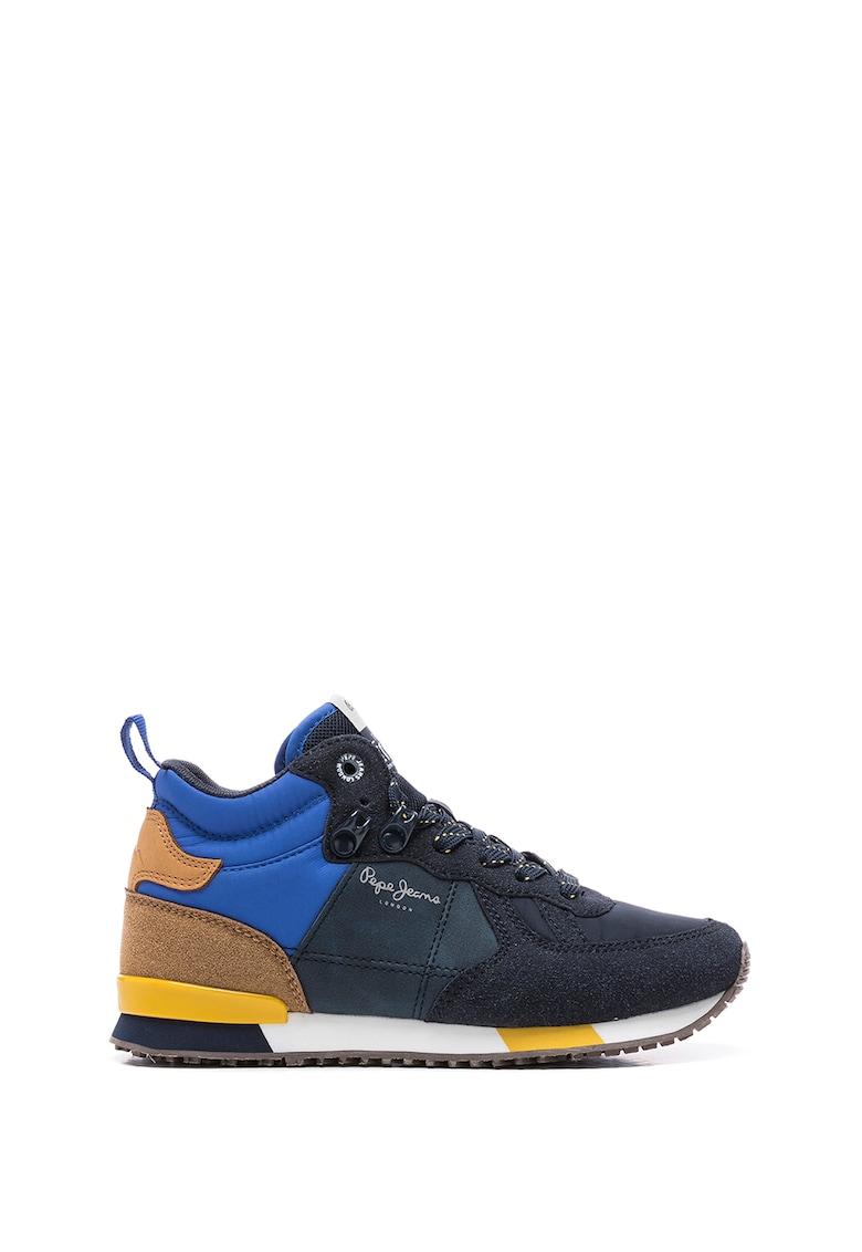 Pantofi sport mid-high de piele ecologica Sydney