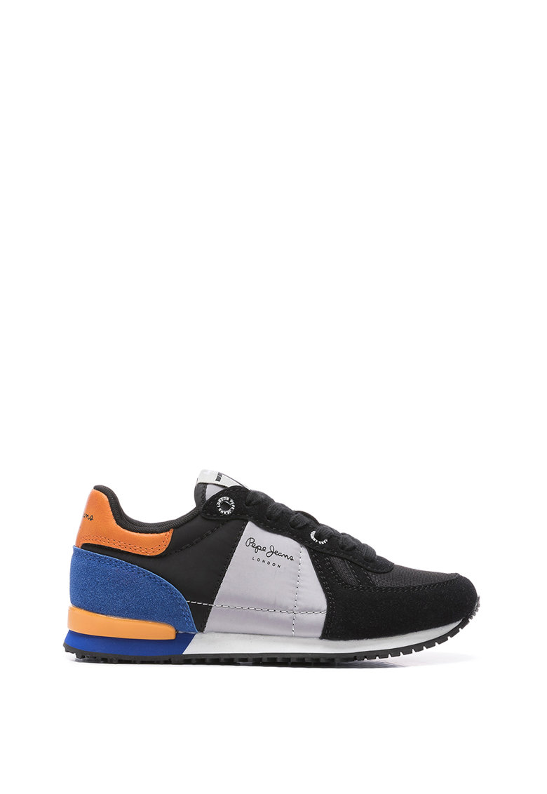 Pantofi sport de piele ecologica cu insertii de plasa Sydney poza fashiondays