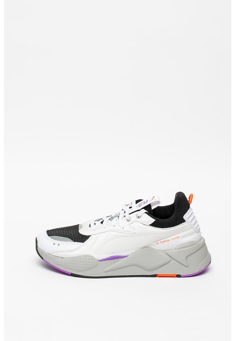 Pantofi sport unisex - cu aspect masiv si model colorblock RS-X Softcase imagine