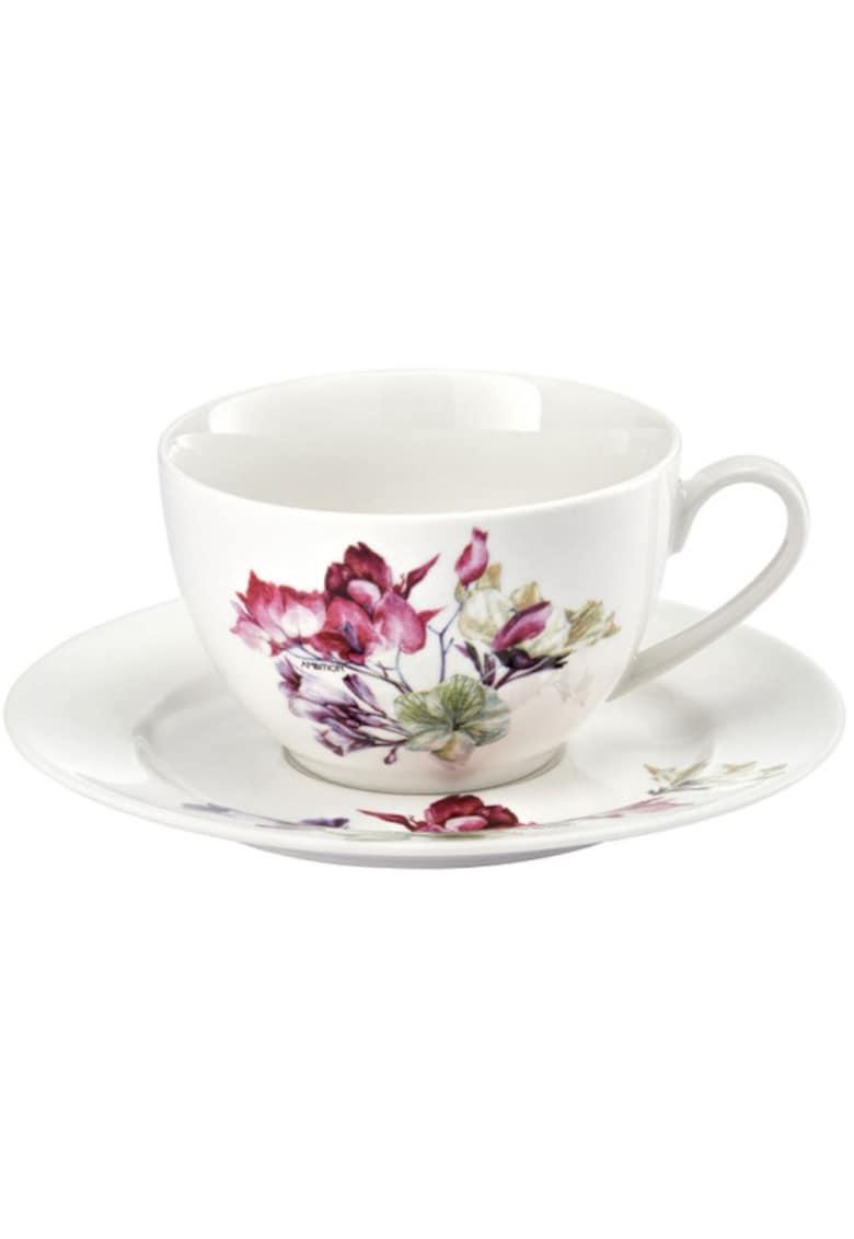 Set cafea  Garden - portelan - 12 piese