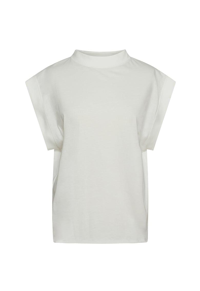 Bluza lejera cu guler scurt imagine