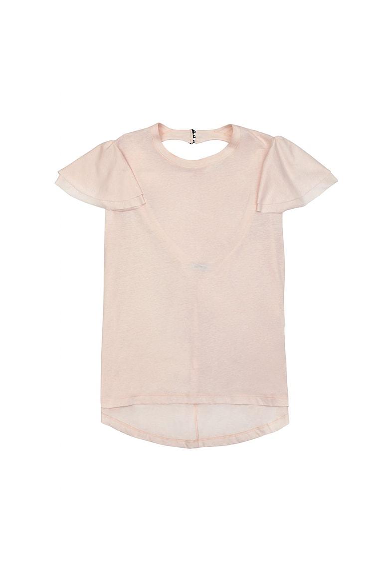 Bluza de jerseu cu decupaj pe partea din spate