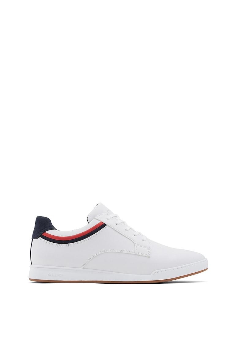 Pantofi sport din piele ecologica cu garnitura contrastanta Jeanluc