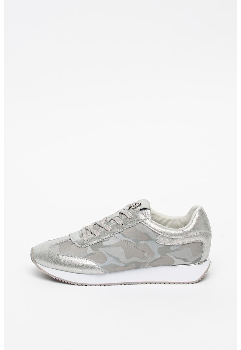 Pantofi sport cu imprimeu camuflaj Arlie