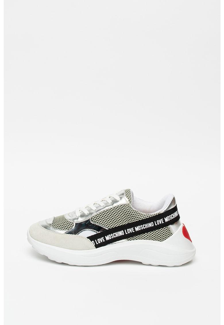 Pantofi sport cu insertii de piele intoarsa RS-X Reinvent 3