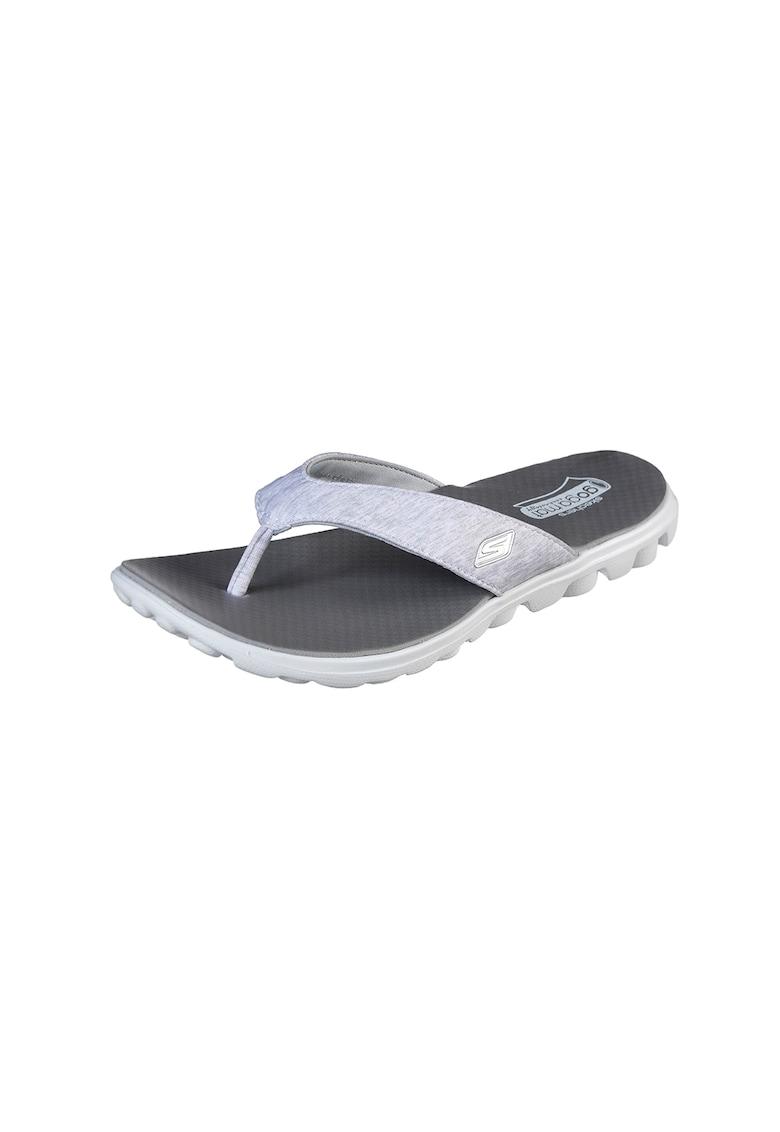Papuci flip-flop cu amortizare Flow