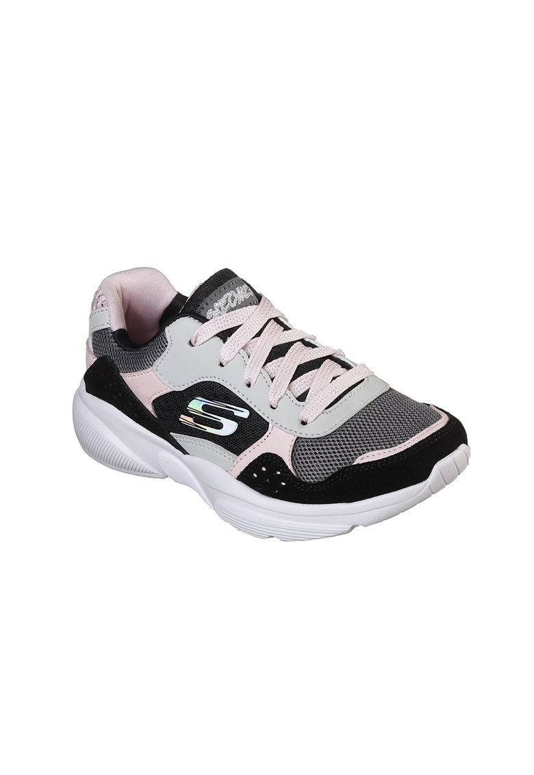 Pantofi sport de piele cu insertii de piele intoarsa Meridian Charted imagine
