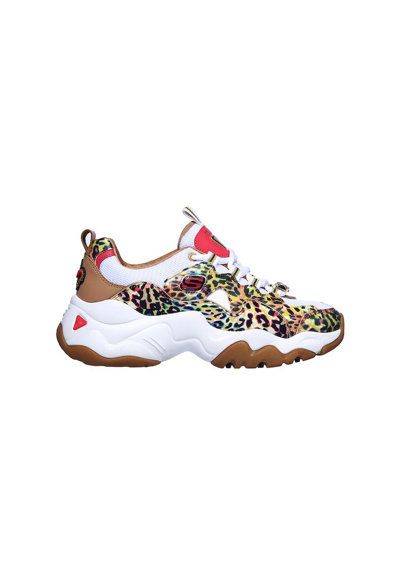 Pantofi sport cu animal print D'Lites 3.0