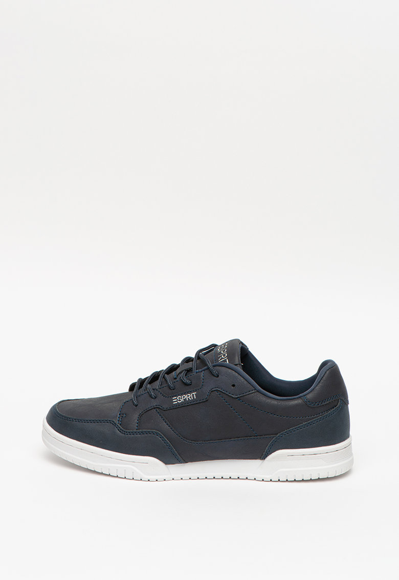 Pantofi sport de piele ecologica cu detaliu logo imagine fashiondays.ro