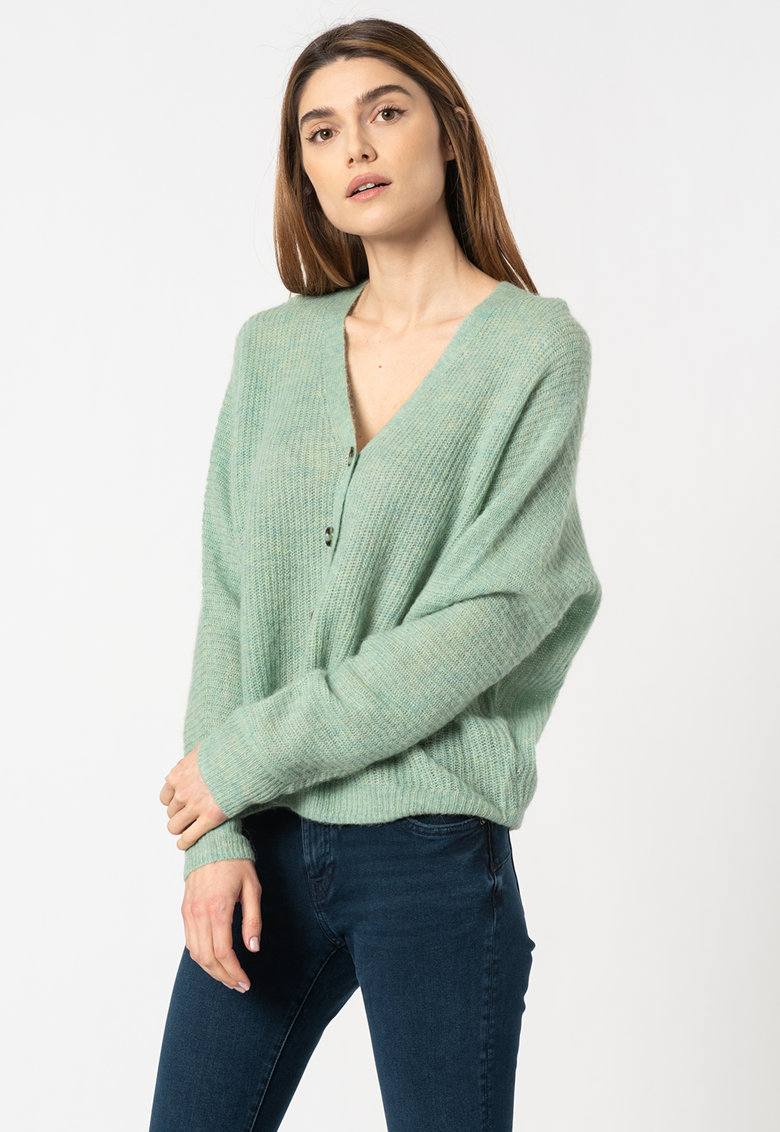 Cardigan din amestec de lana fashiondays.ro