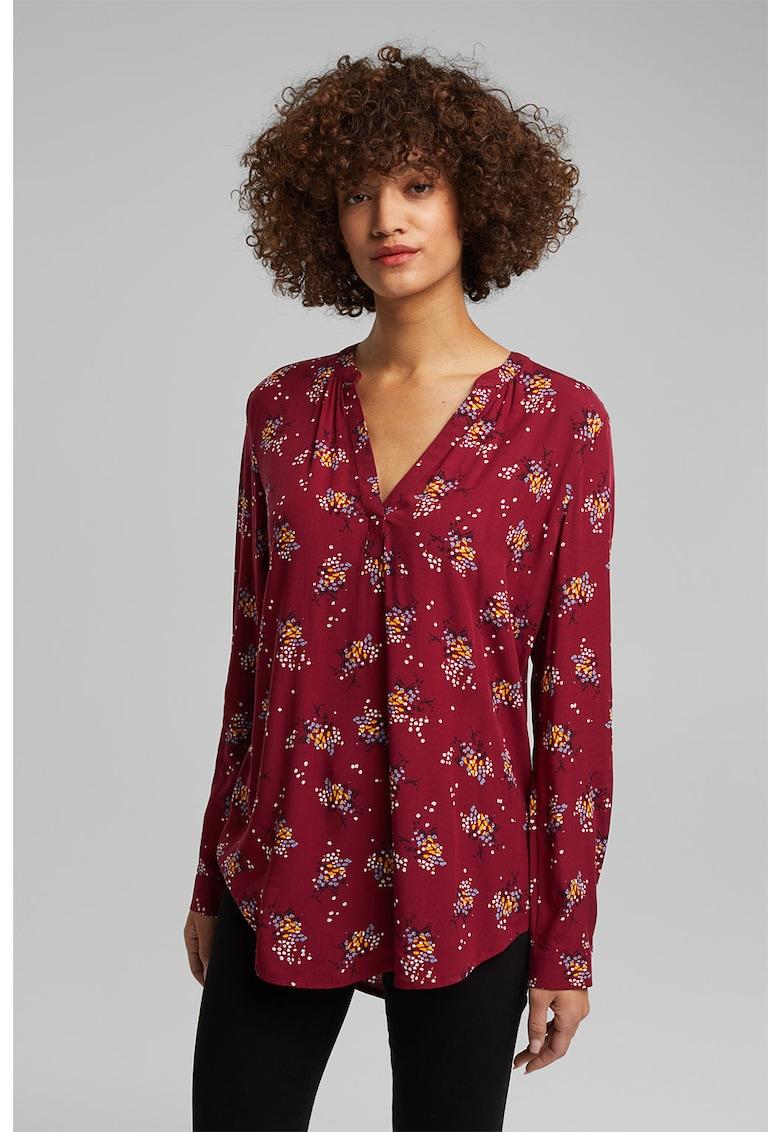 Bluza tip tunica cu terminatie asimetrica imagine