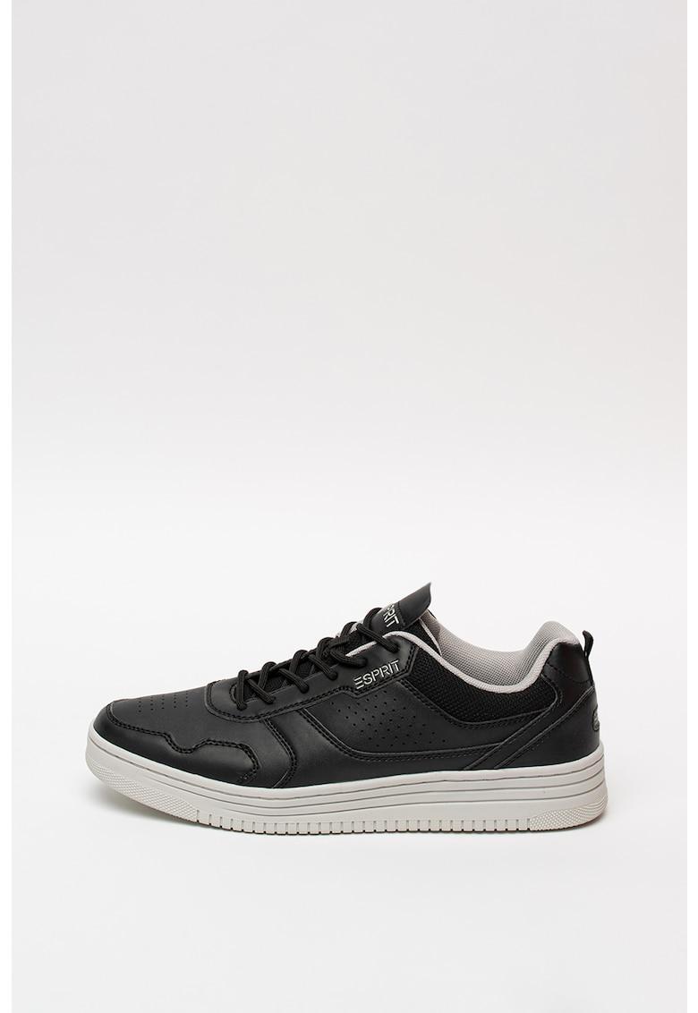 Pantofi sport de piele ecologica - cu garnituri de plasa imagine