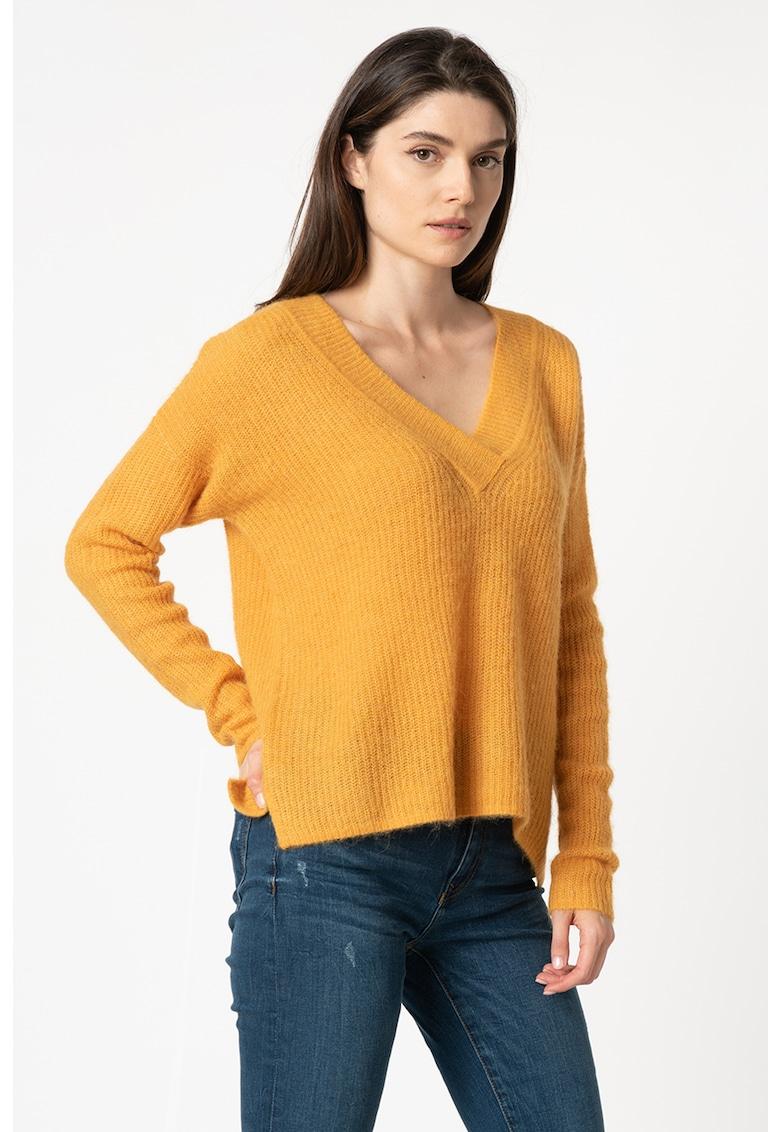 Pulover din amestec de lana si lana alpaca de la Esprit