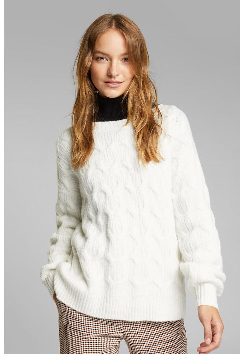 Pulover din amestec de lana 1