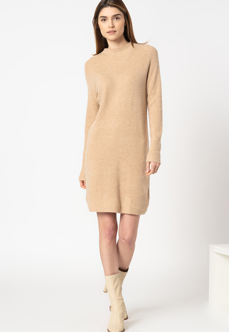 Rochie tip pulover tricotata fin