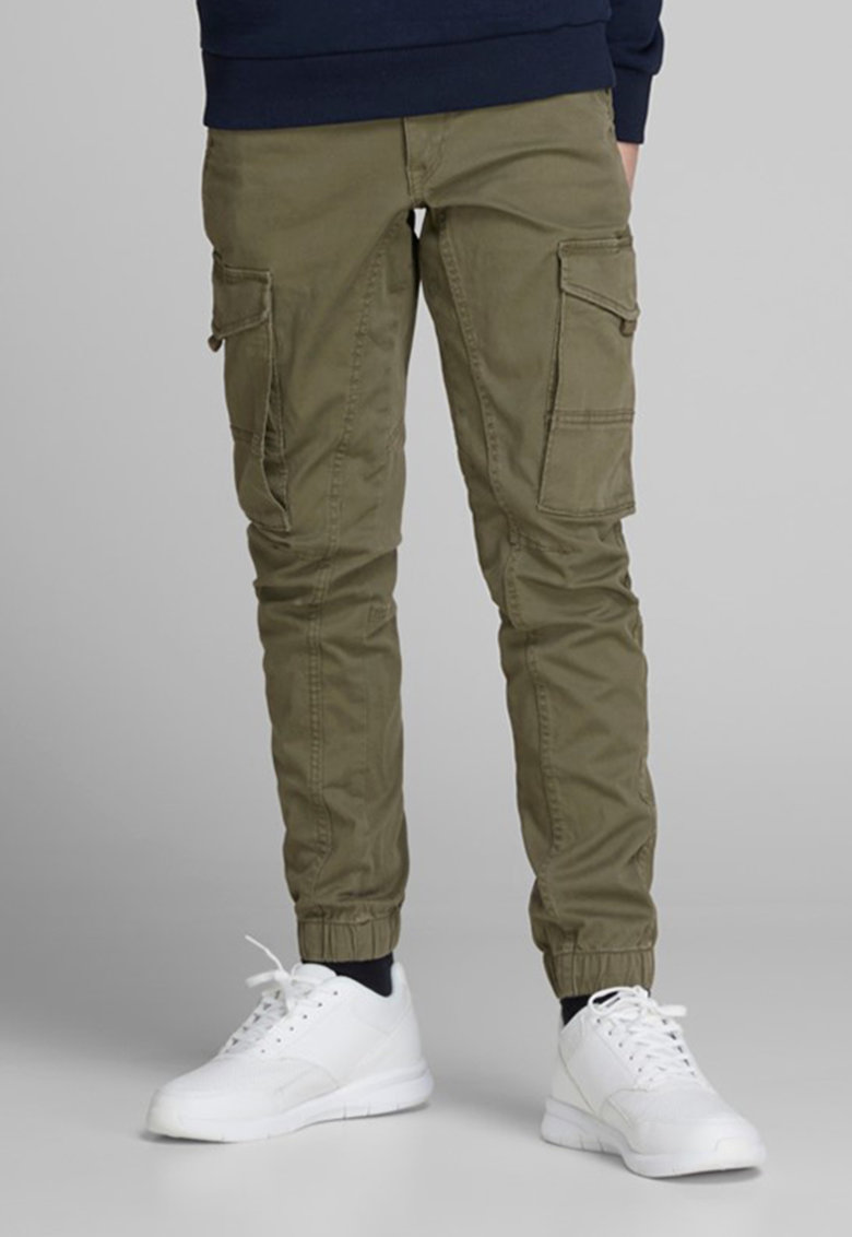 Pantaloni cargo slim fit imagine