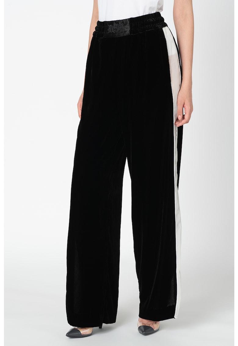 Pantaloni cu slituri laterale P-Karal