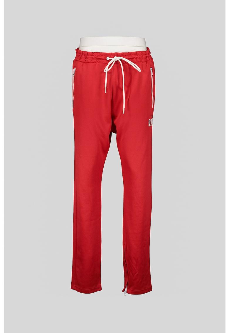 Pantaloni sport cu slituri cu fermoar Yegor