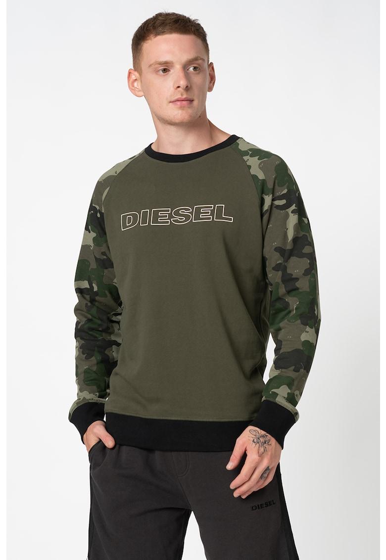 Bluza de pijama cu imprimeu logo imagine