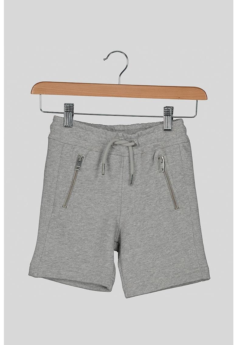 Pantaloni scurti sport cu buzunare laterale cu fermoar imagine