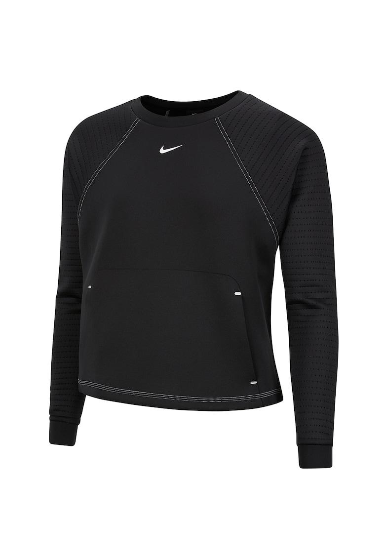 Bluza sport cu maneci raglan si tehnologie Dri-Fit - pentru fitness Pro Luxe imagine