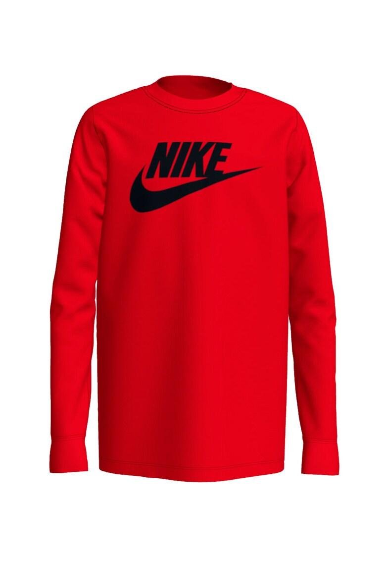 Bluza cu imprimeu logo Ls Futura imagine