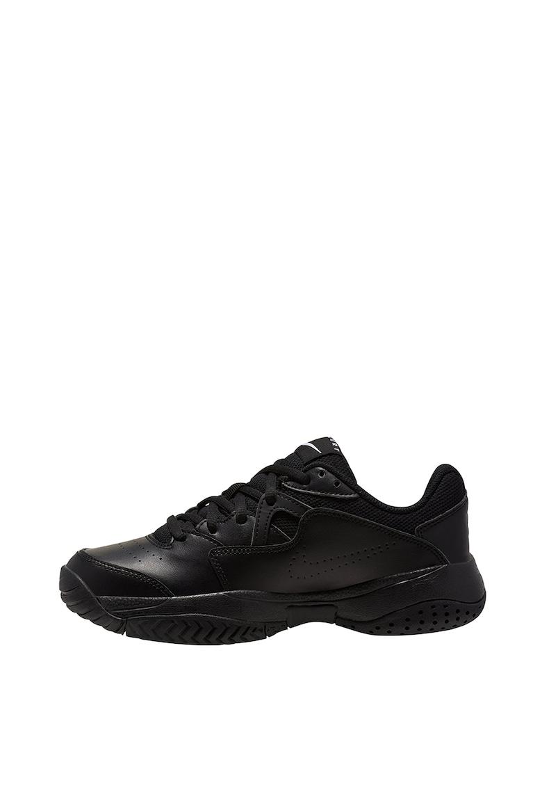Pantofi cu garnituri de piele pentru tenis Court Lite 2