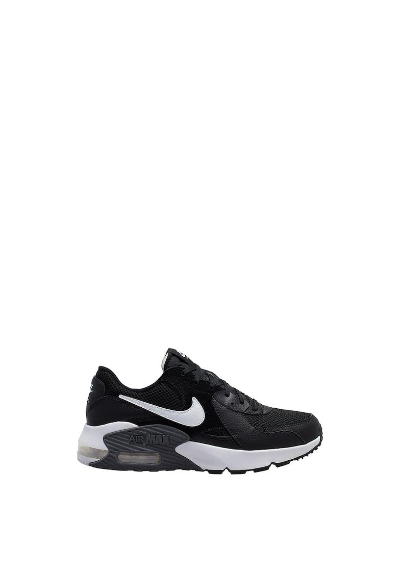 Pantofi sport de piele cu logo stantat 2