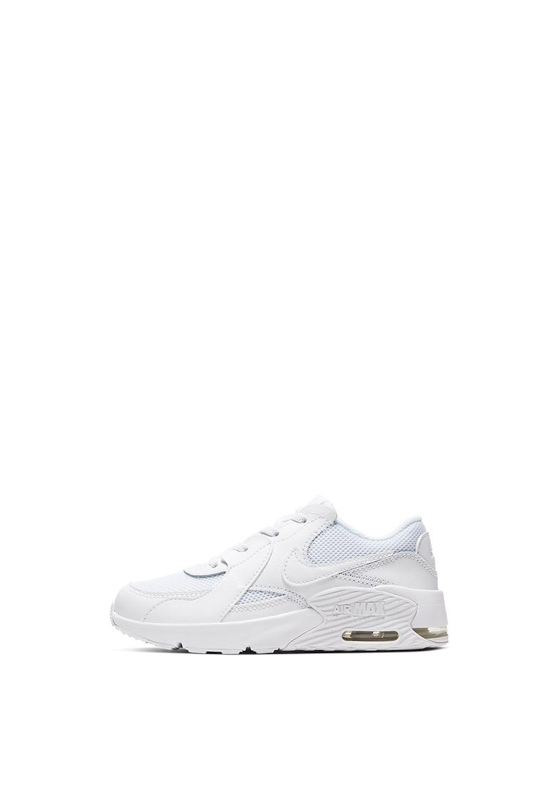 Pantofi sport din plasa cu garnituri din piele si piele intoarsa Air Max Excee de la Nike