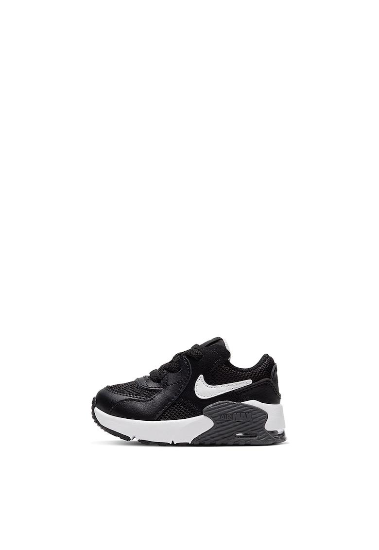 Pantofi sport cu garnituri din piele intoarsa si piele Air Max Excee imagine