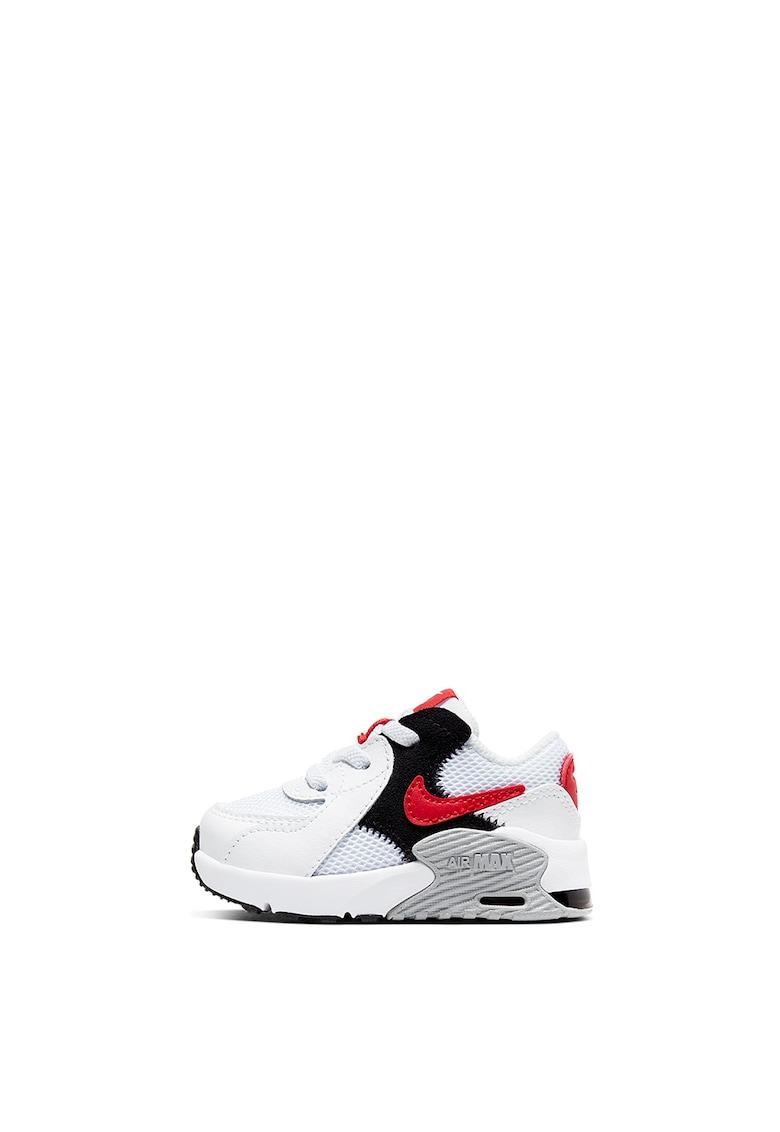 Pantofi sport cu garnituri din piele intoarsa si piele Air Max Excee