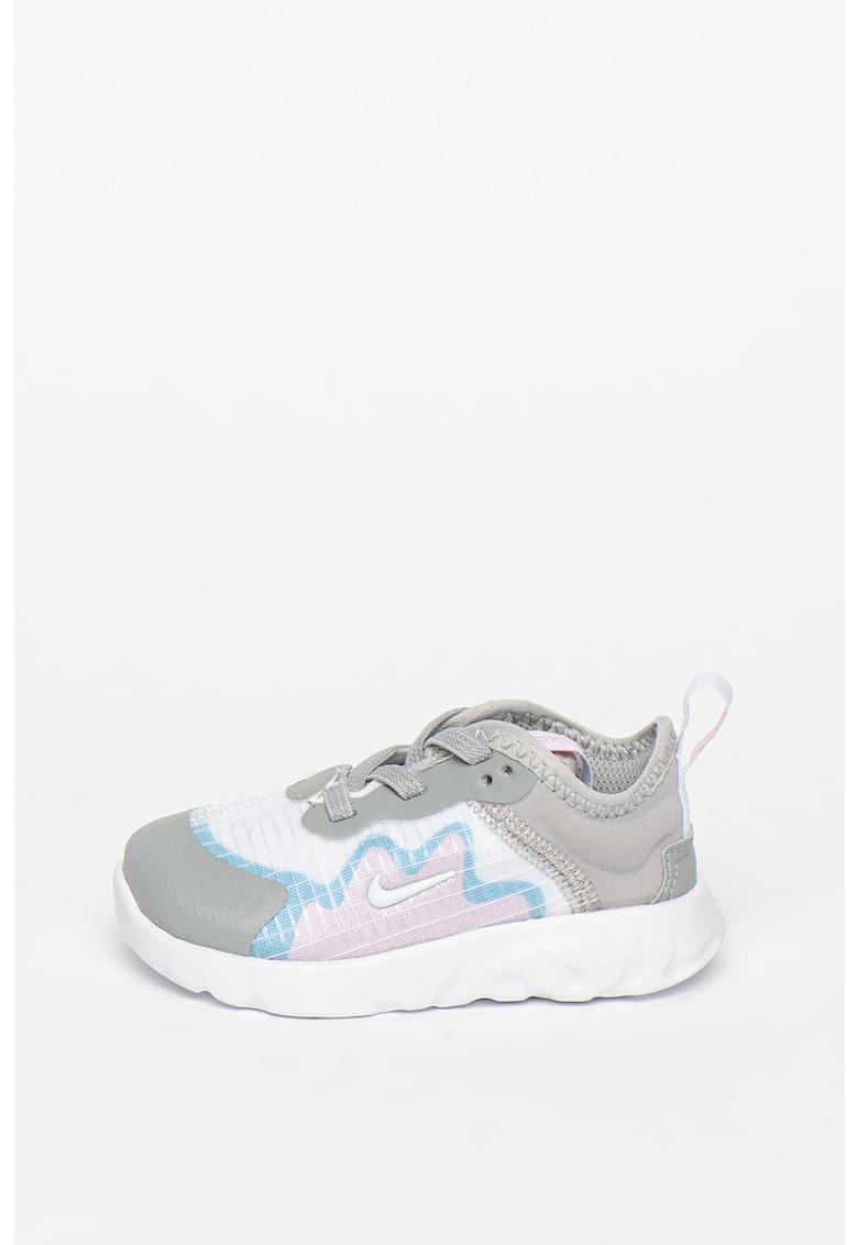 Pantofi sport din plasa cu garnituri din piele ecologica Renew Lucent