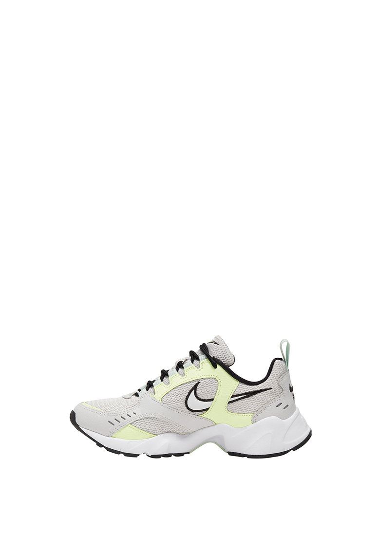 Pantofi sport de piele si plasa cu detalii reflectorizante Air Heights