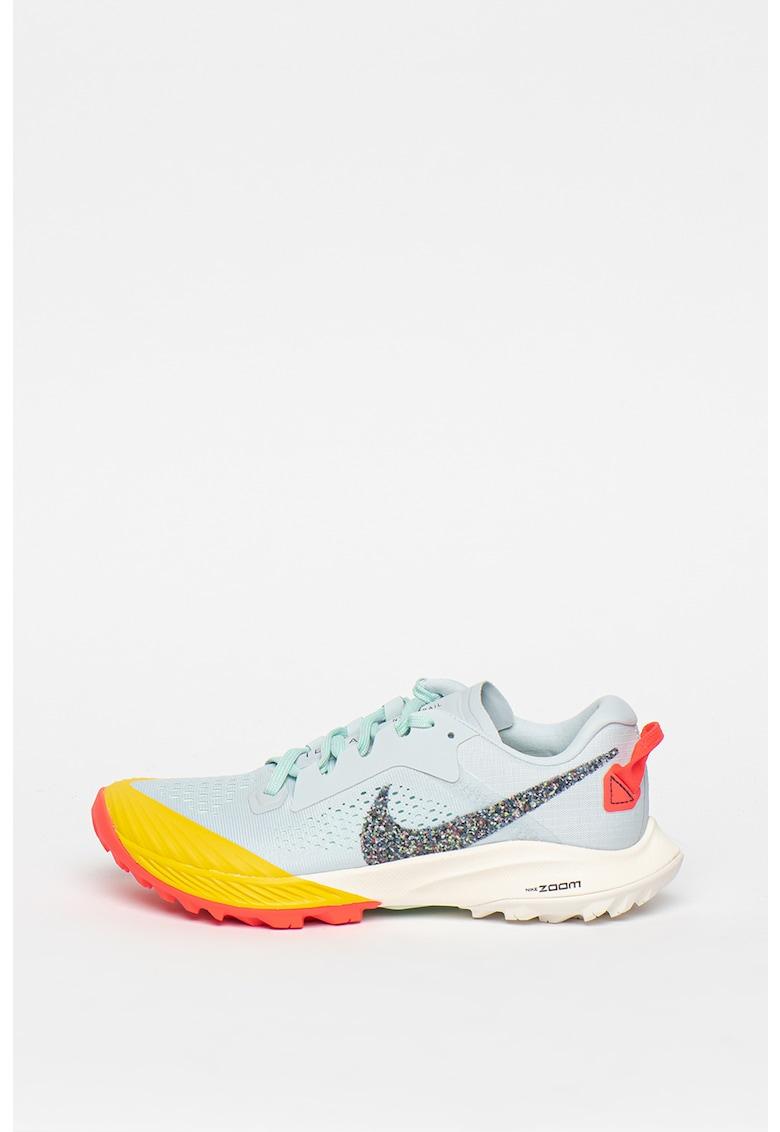 Pantofi cu aspect colorblock - pentru alergare Zoom Terra Kiger imagine