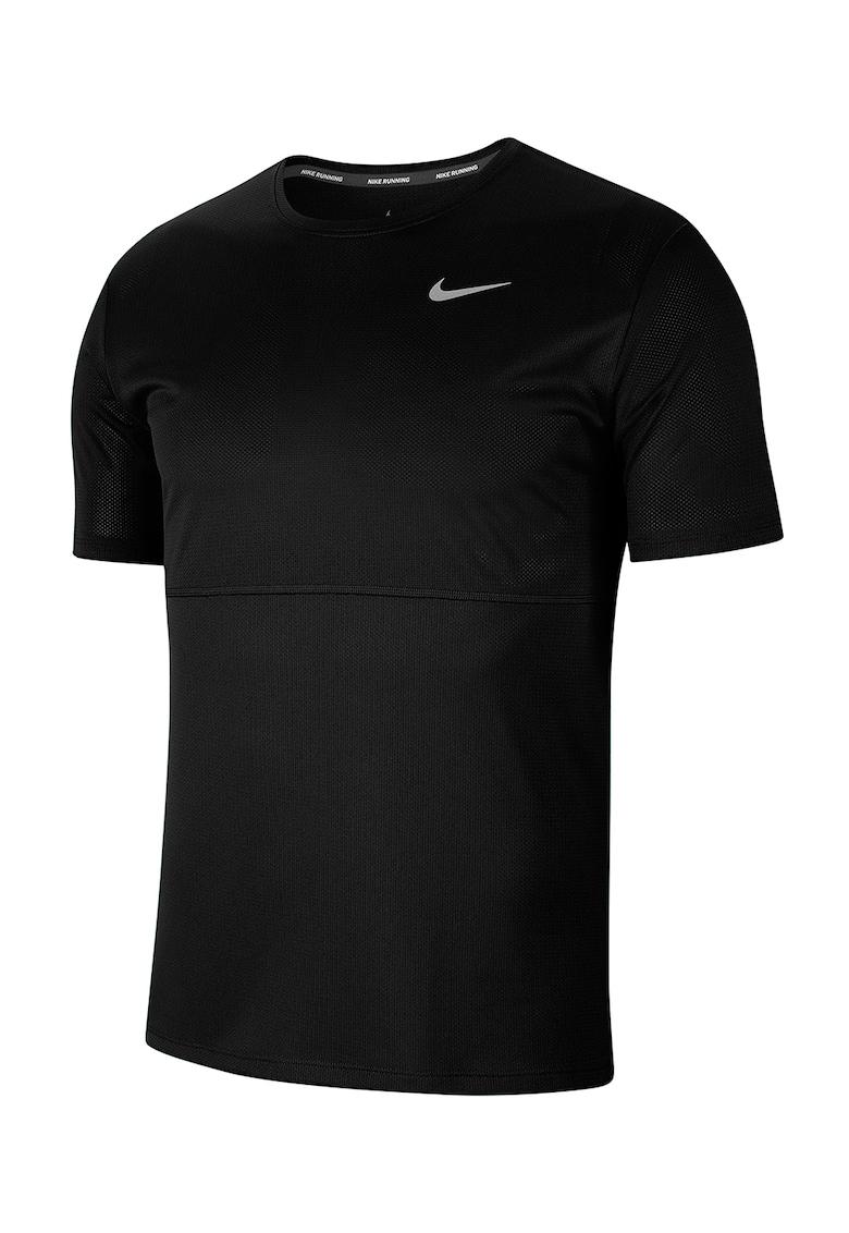 Tricou cu decolteu la baza gatului - pentru alergare Breathe imagine