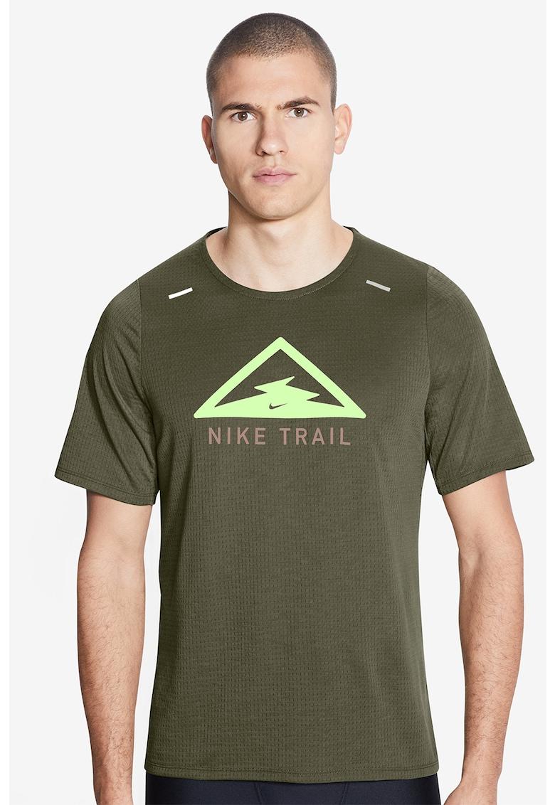 Tricou cu tehnologie Dri-FIT si imprimeu grafic - pentru alergare Rise 365