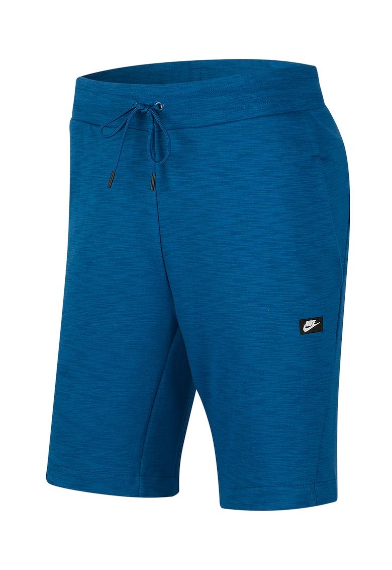 Pantaloni scurti din amestec de bumbac - cu snur
