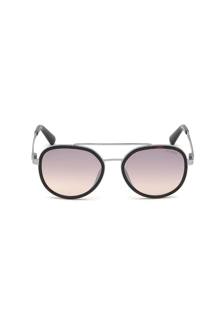 Ochelari de soare aviator rotunzi cu lentile polarizate imagine