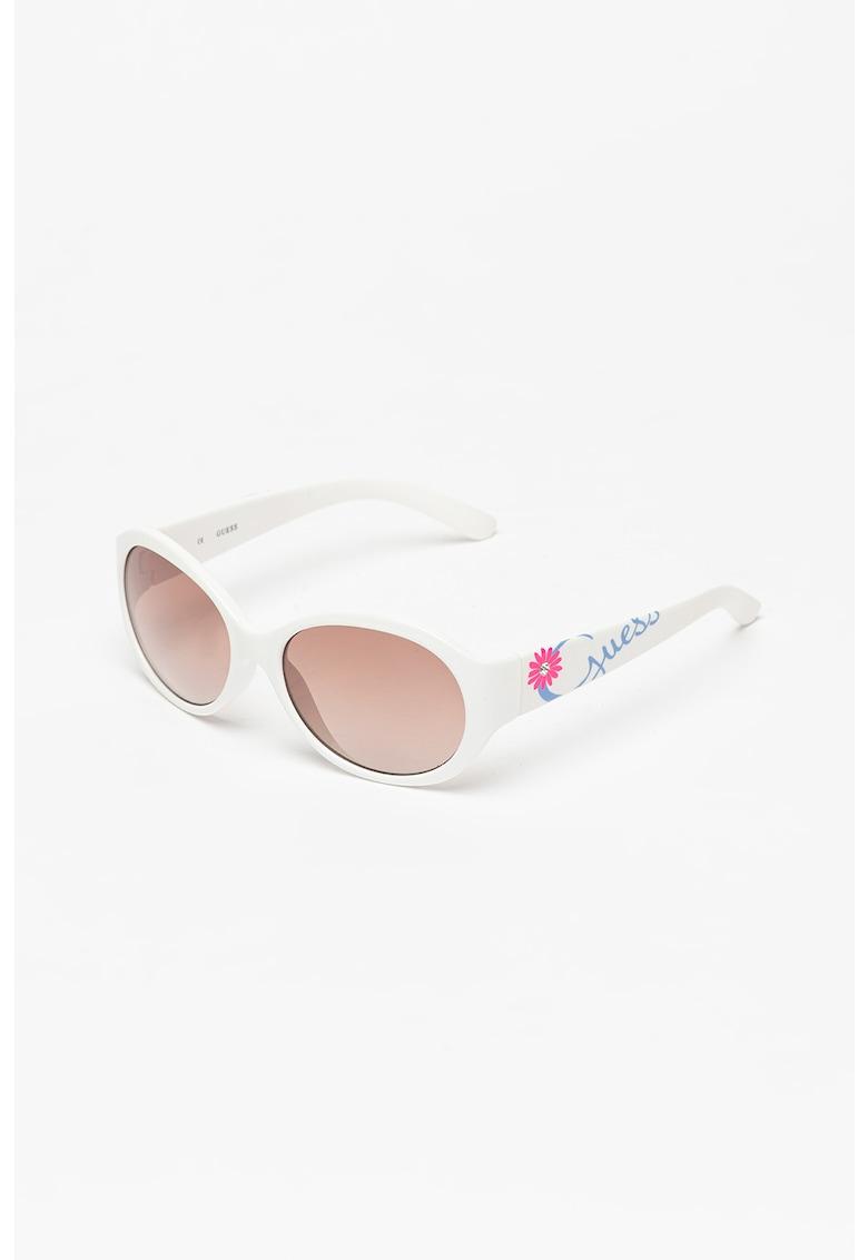 Ochelari de soare ovali polarizati - cu model logo poza fashiondays