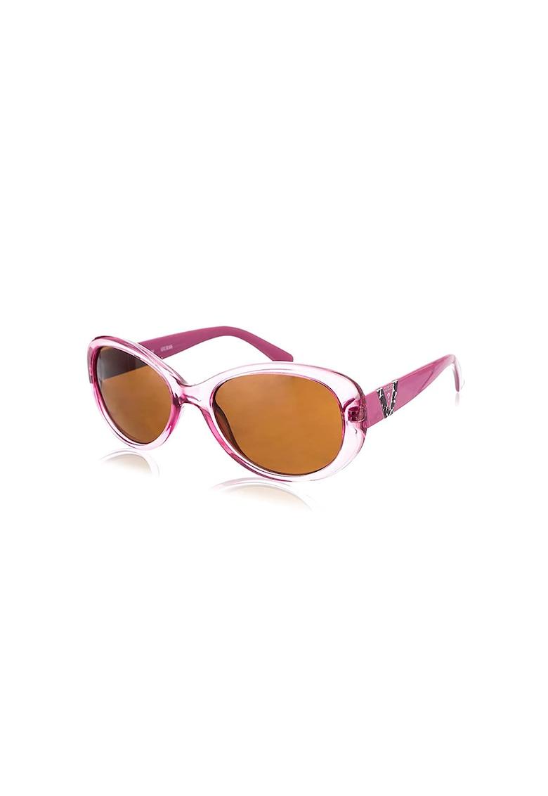 Ochelari de soare butterfly - cu lentile polarizate imagine fashiondays.ro Guess