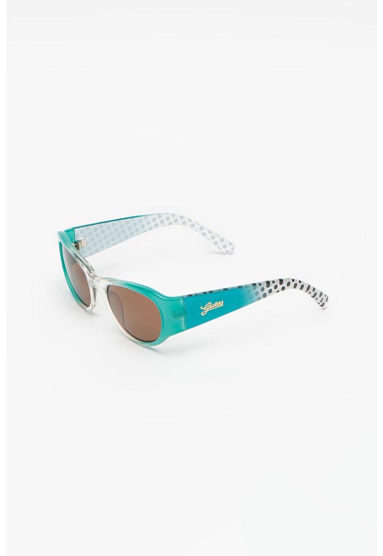 Ochelari de soare cat-eye polarizati - cu aspect in degrade imagine fashiondays.ro