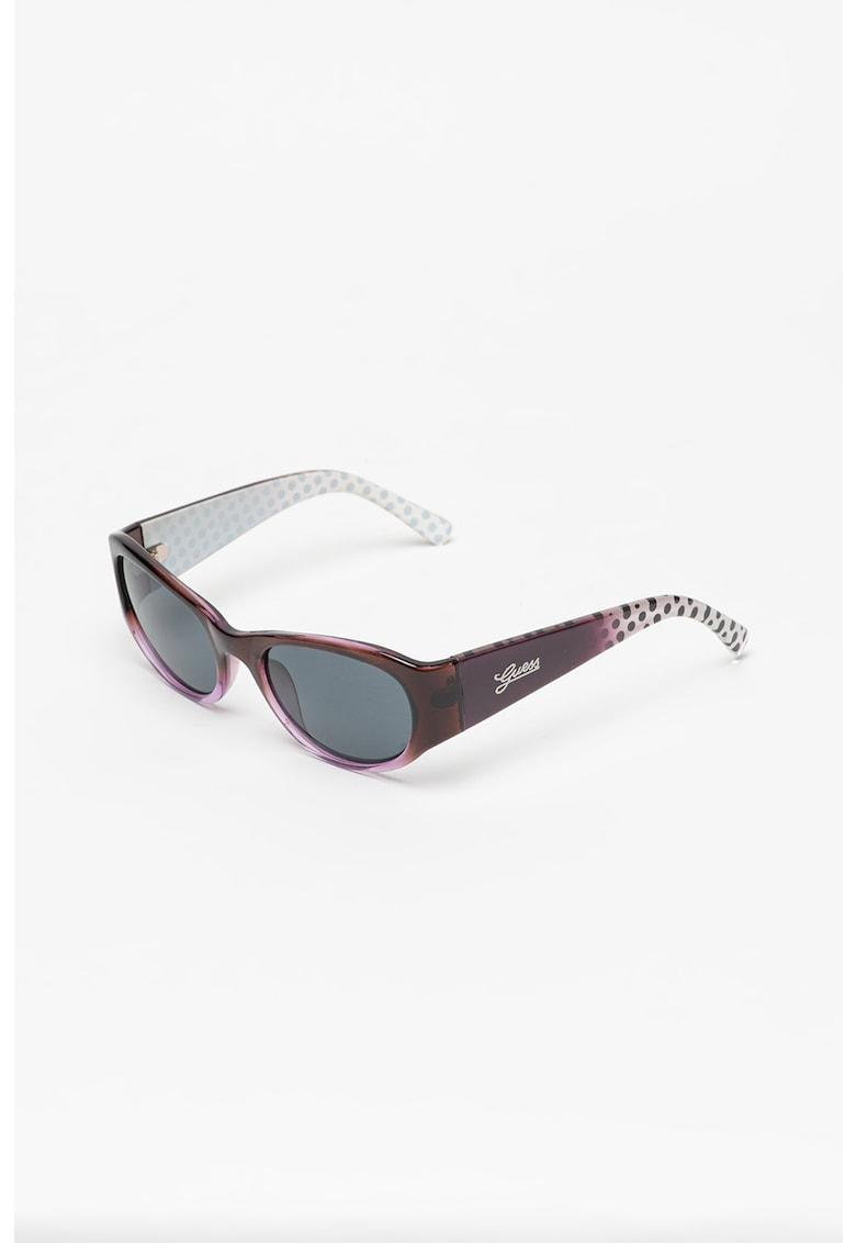 Ochelari de soare ovali polarizati Guess fashiondays.ro