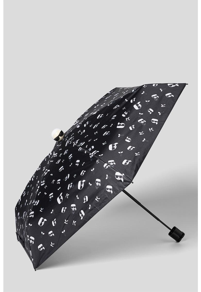 Karl Lagerfeld Umbrela cu imprimeu logo K/Ikonik