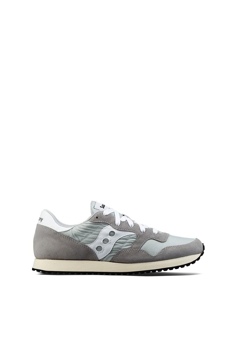 Pantofi sport cu garnituri din piele intoarsa DXN Trainer Vintage